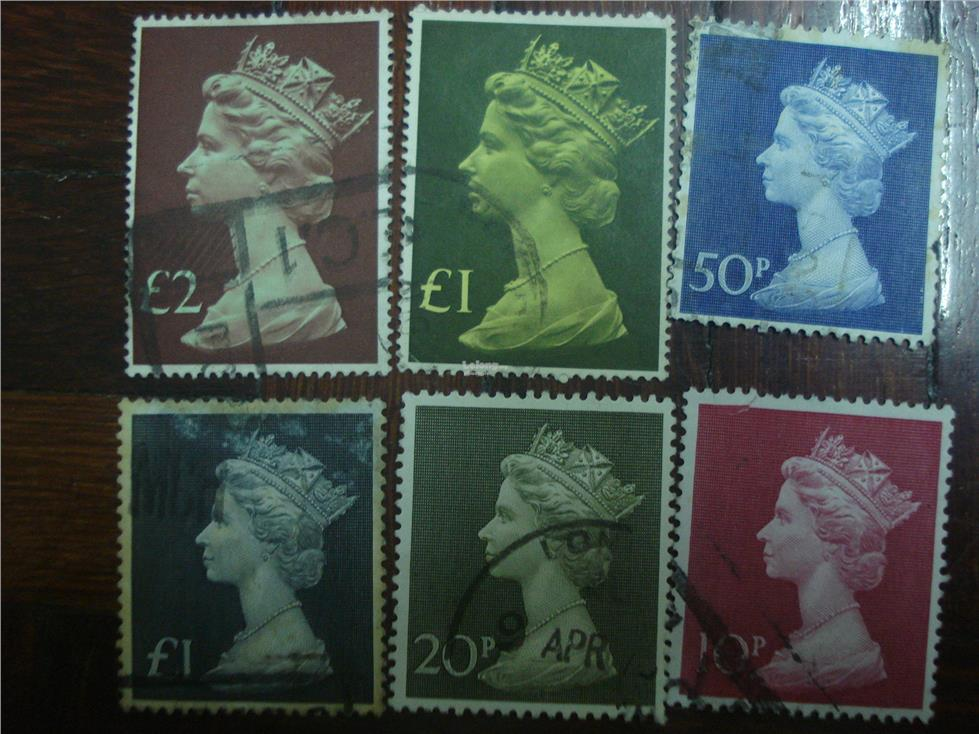 GB 5 HV Nice Stamps