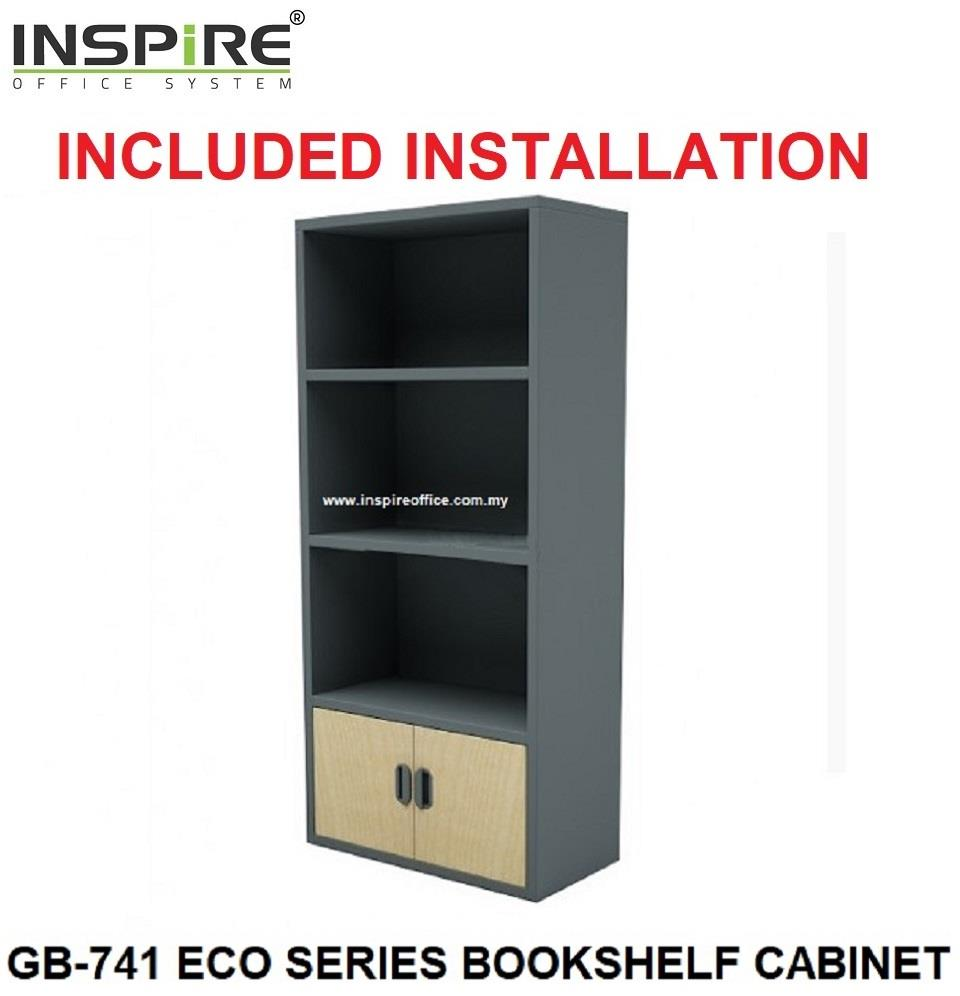 GB-741 ECO SERIES BOOKSHELF CABINET