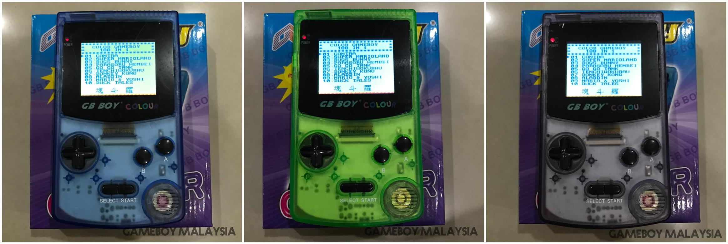 Gameboy color screen mod - Gb Boy Gameboy Color Backlit Mod Built In 188 Games