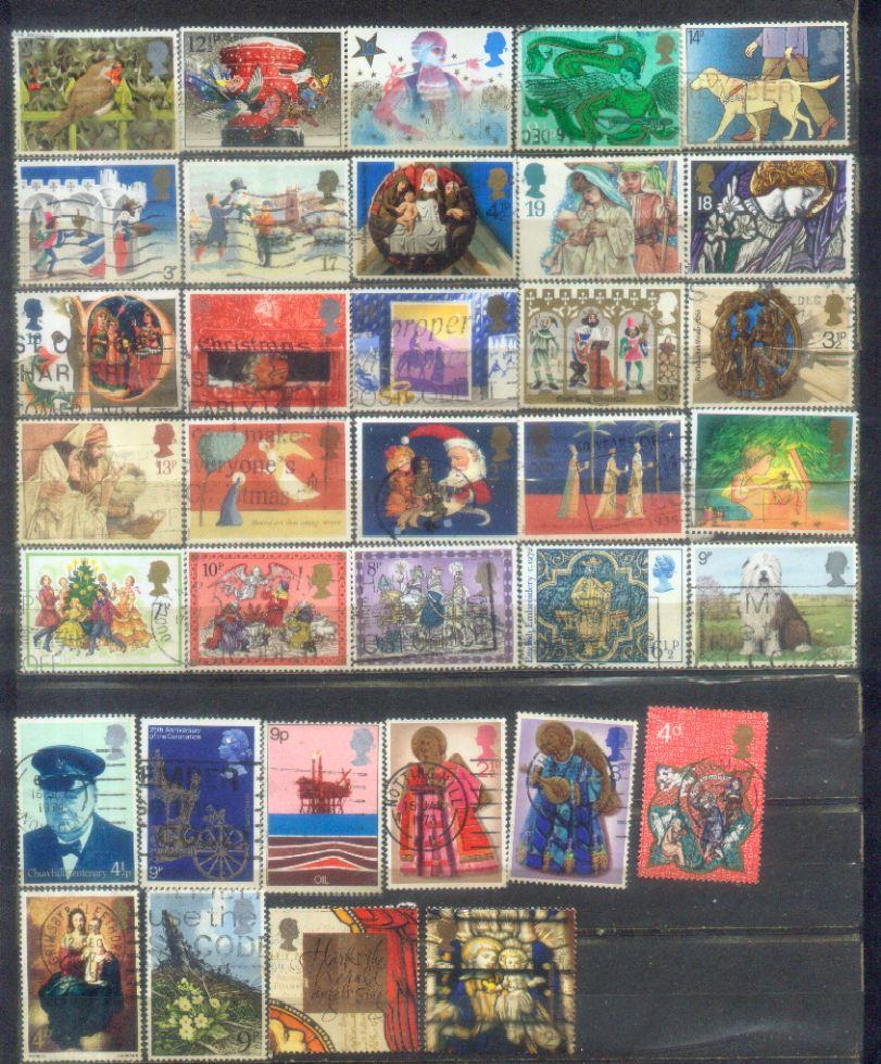 GB UK NIce 35 Comonmorative Stamps
