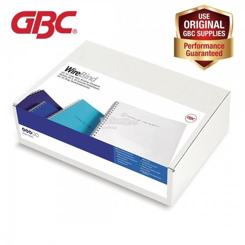 GBC WireBind 34 Loops - 14mm, A4, 125 Sheets, Silver