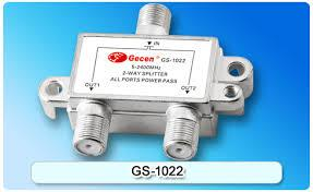 Gecen 2 Way Satellite Splitter GS-1022