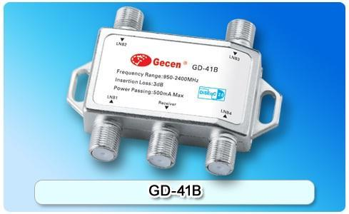 Gecen 4X1 DiSEqC Switch GD-41B