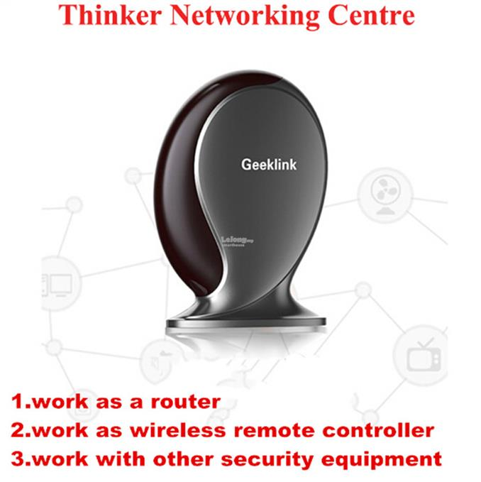 Geeklink Smart Home Router IR/WIFI/RF Remote Compatible Broadlink