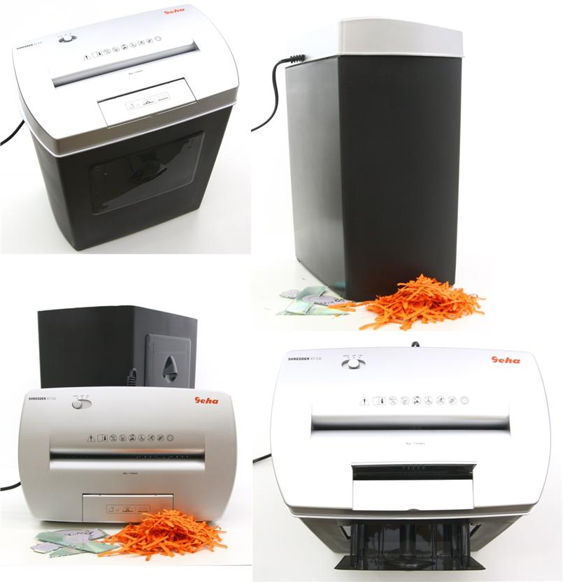 GEHA Home & Office Paper Shredder X7 CD Document Shredder