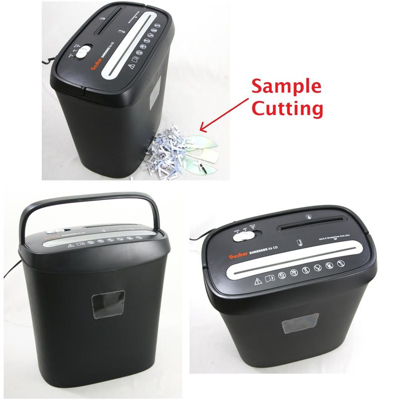 GEHA Home & Office X6 CD Paper Shredder Machine
