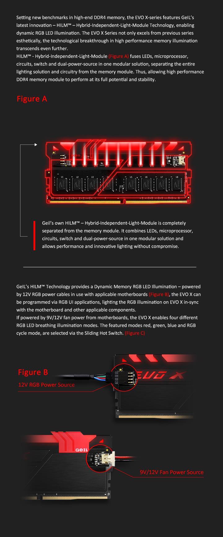 Geil Evo X Rgb 8gb Ddr4 2400mhz S End 11 7 2017 1115 Am Complete Ddr Power Solution Single Channel Kit