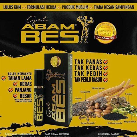Gel Abam Bes ORIGINAL ada KKM NOT161103749K