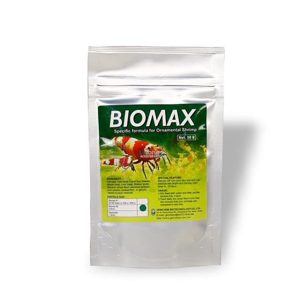 Genchem Biomax For Shrimp 50g (Shrimp Food)