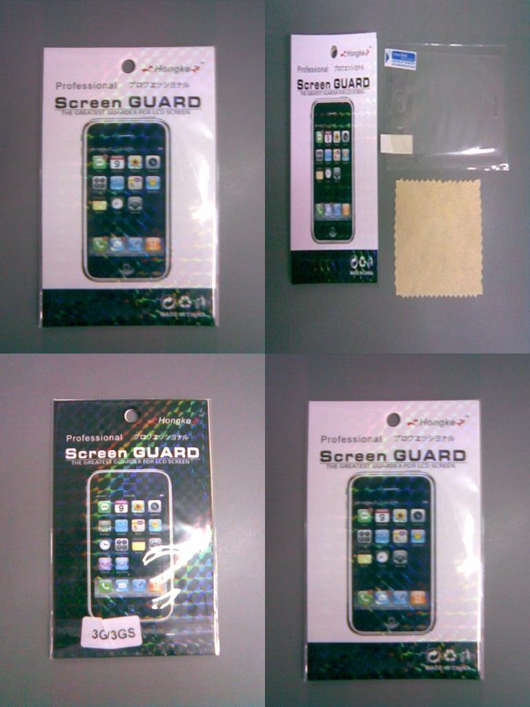New generic Reusable Screen Protector for iPhone 3G 3GS