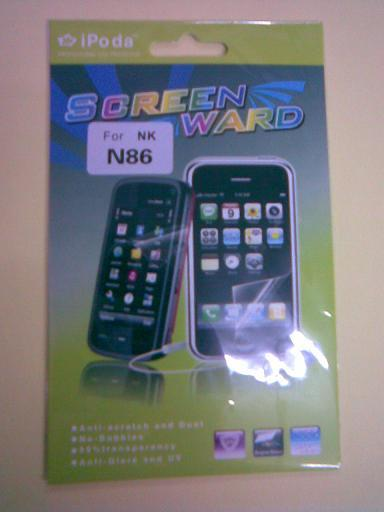 New generic Reusable Screen Protector for Nokia N86