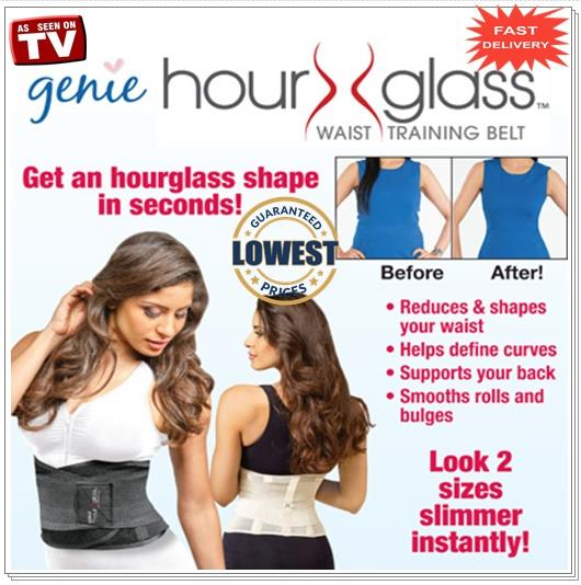 5c5b01d16a Genie Hour Glass™ Waist Training Belt By Same Company As Genie Bra. ‹ ›