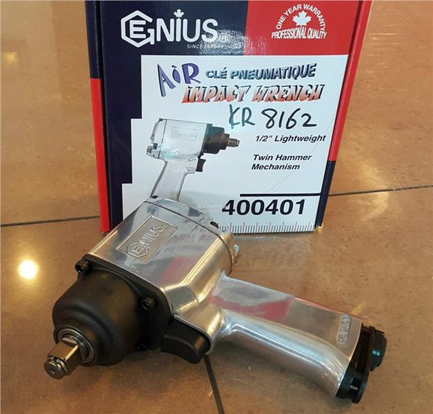 Genius 1/2 DR Air Impact Wrench 400401 ID228162