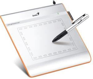 GENIUS 4'x5.5' GRAPHIC TABLET WITH CORDLESS PEN, EASYPEN (i405X)