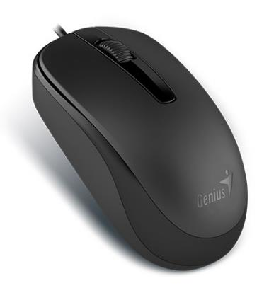 GENIUS WIRED USB OPTICAL MOUSE DX-120 BLACK