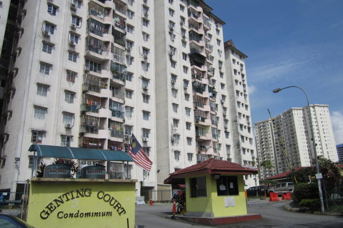 Genting Court For Sale 3R 2BR, KLCC View