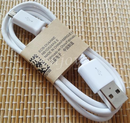 Genuine 1.0m Micro USB Cable Samsung Galaxy Note 10.1 2014 P605 ~WHT