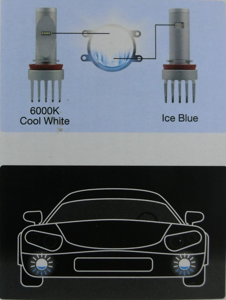 Led 6000k Lamp H8h11h16 65219cw Genuine Fog Osram Hybrid Color oeWrdxQCB