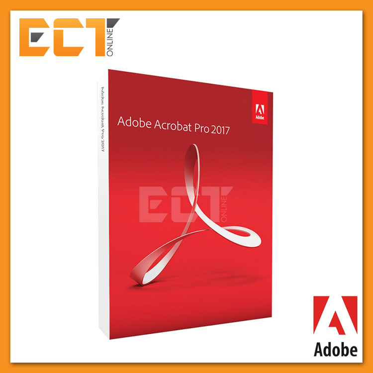 Genuine Adobe Acrobat Pro 2017 Full Package for Windows (Commercial Pa