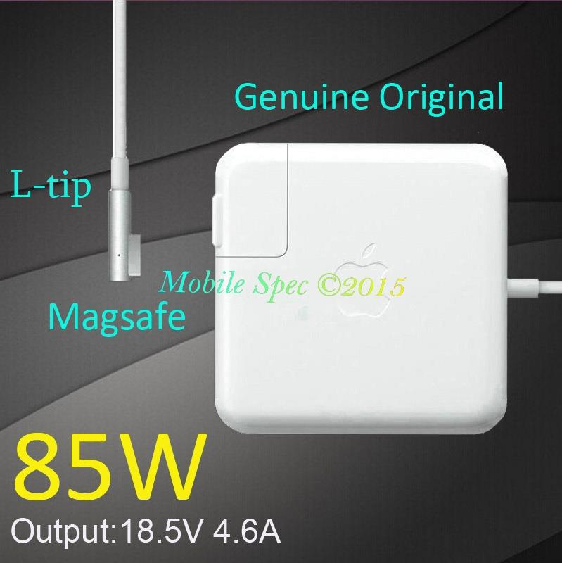 apple 85w magsafe power adapter. genuine apple 85w magsafe power adapter charger a1343 macbook pro 85w magsafe d
