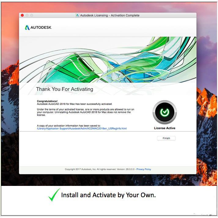 [Genuine] Autodesk AutoCAD LT 2019 3 Years License Windows 32/64-bit
