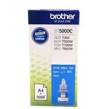GENUINE BROTHER BT5000 CYAN INK CARTRIDGE **NEW**SEALED BOX