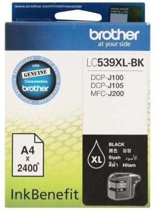 GENUINE BROTHER LC-539XL BLACK INK CARTRIDGE **NEW**SEALED BOX