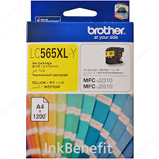 GENUINE BROTHER LC-565XL YELLOW INK CARTRIDGE **NEW**SEALED BOX