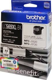 GENUINE BROTHER LC-569XL BLACK INK CARTRIDGE **NEW**SEALED BOX