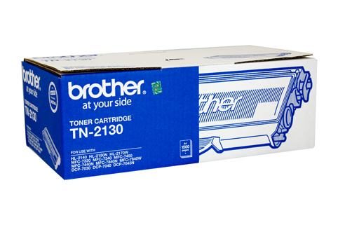 GENUINE BROTHER TN-2130 BLACK INK TONER **NEW**SEALED BOX