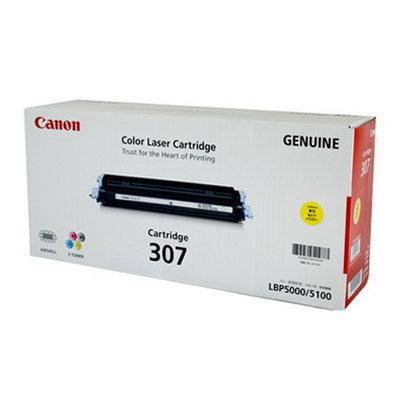 GENUINE CANON 307 YELLOW LASER INK TONER **NEW**SEALED BOX