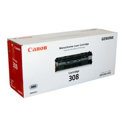 GENUINE CANON 308 BLACK INK TONER **NEW**SEALED BOX