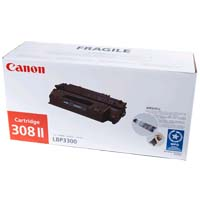 GENUINE CANON 308 II BLACK INK TONER **NEW**SEALED BOX