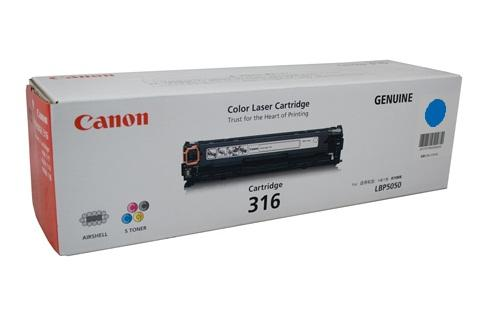 GENUINE CANON 316 CYAN LASER INK TONER **NEW**SEALED BOX