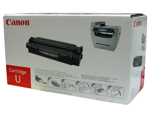 GENUINE CANON CART U BLACK LASER INK TONER **NEW**SEALED BOX