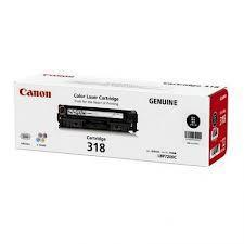 GENUINE CANON CARTRIDGE 318 BLACK LBP-7200CD/ 7200 CDN/ 7680CX