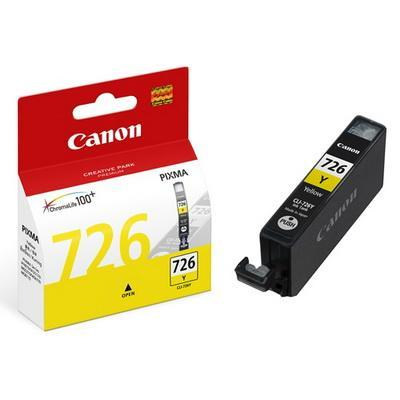 GENUINE CANON CLI-726 YELLOW INK CARTRIDGE **NEW**SEALED BOX