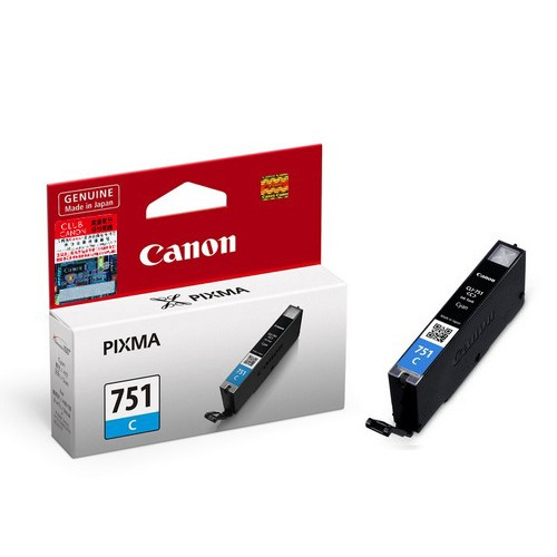 GENUINE CANON CLI-751 CYAN INK CARTRIDGE **NEW**SEALED BOX