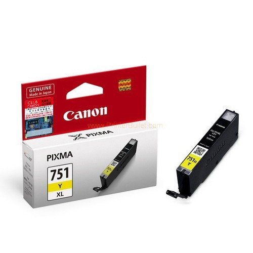 GENUINE CANON CLI-751XL YELLOW INK CARTRIDGE **NEW**SEALED BOX