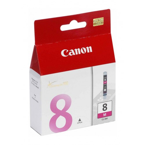 GENUINE CANON CLI-8 MAGENTA INK CARTRIDGE **NEW**SEALED BOX