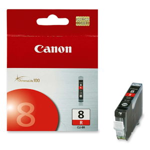 GENUINE CANON CLI-8 RED INK CARTRIDGE **NEW**SEALED BOX