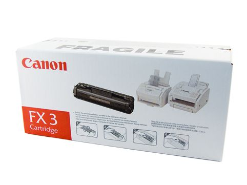 GENUINE CANON FX3 LASER INK TONER **NEW**SEALED BOX