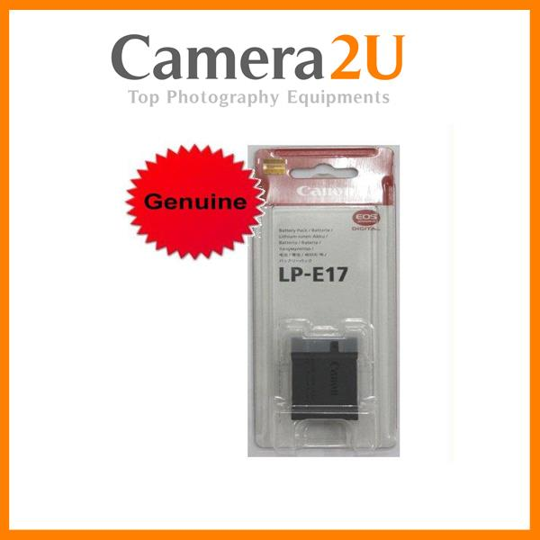 Genuine Canon LP-E17 Battery for EOS 200D M3 EOS M5 LPE17 Battery