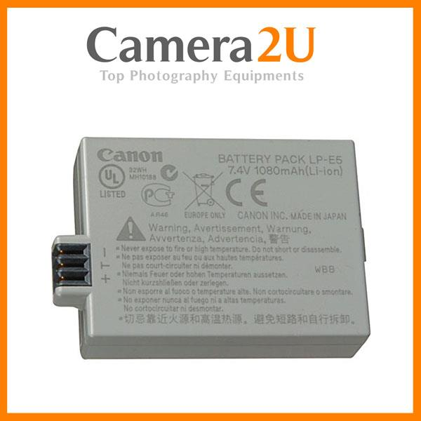NEW Genuine Canon LP-E5 Rechargeable Battery