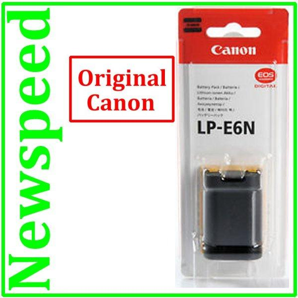 Genuine Canon LP-E6N Battery for EOS 5D MK III Mark 3 5D MarK 2 MK II