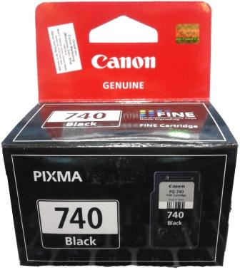 GENUINE CANON PG-740 BLACK INK CARTRIDGE