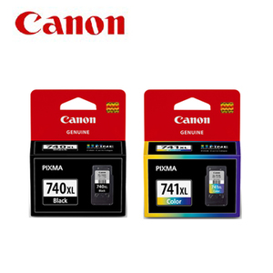 GENUINE CANON PG-740XL BLACK + CL-741XL COLOR INK CARTRIDGE