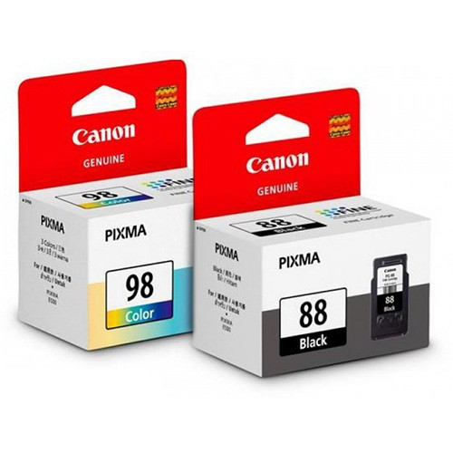 GENUINE CANON PG-88 BLACK + CL-98 COLOR INK CARTRIDGE**NEW**SEALED BOX