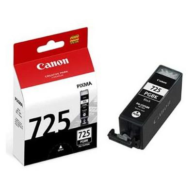 GENUINE CANON PGI-725 BLACK INK CARTRIDGE **NEW**SEALED BOX