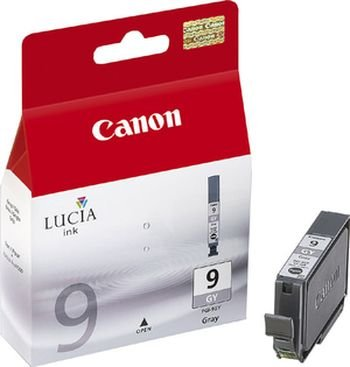 GENUINE CANON PGI-9GY GRAY INK CARTRIDGE **NEW**SEALED BOX